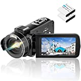 Video Camera Camcorder AiTechny 1080P 24MP Digital Camera 3.0 Inch LCD 270 Degree