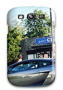 New Cute Funny Lamborghini Gallardo Side Case Cover/ Galaxy S3 Case Cover