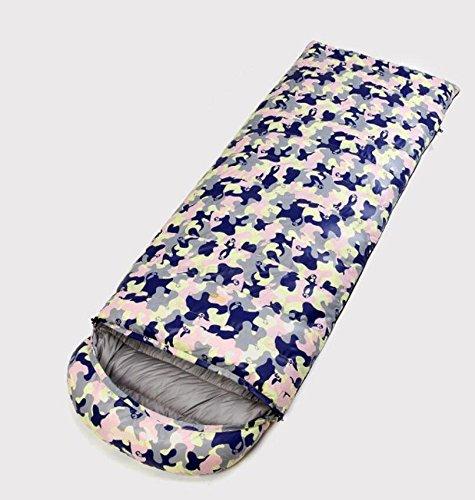 TTYY Daunenschlafsack Umschlag im Freien halten warmes Camping Super Light Winter