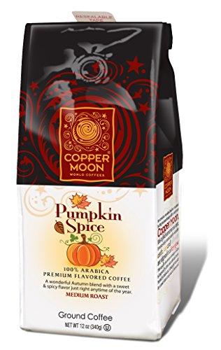 Copper Moon Ground Coffee, Pumpkin Spice, 12 Ounce