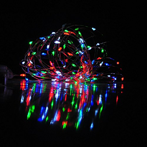 Homeleo 10 Meters 100 Leds Battery Operated Christmas