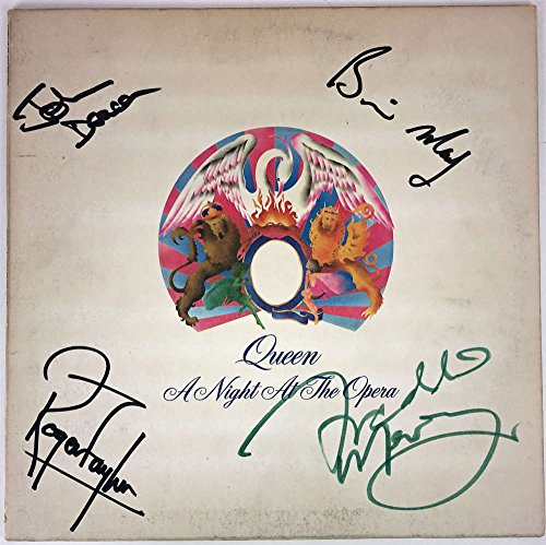 queen-group-signed-autographed-night-at-opera-album-freddie-mercury-beckett-bas