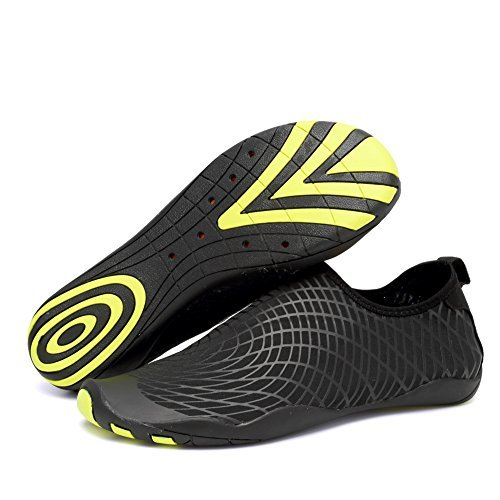 CIOR Men and Women s Barefoot Quick-Dry Water Sports Aqua Shoes with 14  Drainage Holes 443dfe016