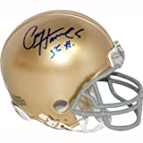Paul Hornung Autographed Notre Dame Mini-helmet With 56 Heisman Inscribed