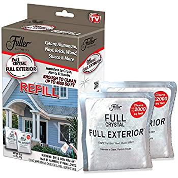 Amazon Com Full Exterior Refill Kit Two 4 Oz Crystal