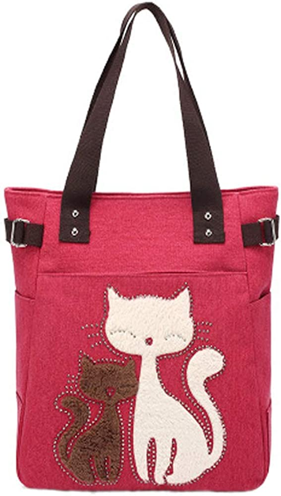 Women Canvas Handbag Tote...
