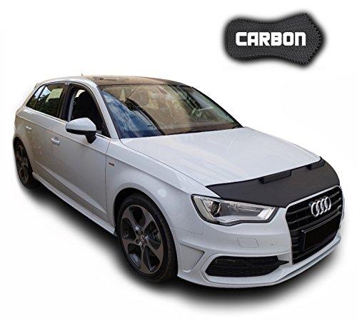 Protector de Capo para Audi A3 8V CARBON Hood Bra máscara Capot Capucha TUNING Black Bull Nuevo