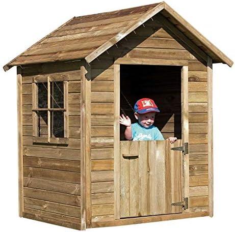 Avanti Trendstore – Caseta para niños, color marrón de imitación: Amazon.es: Hogar
