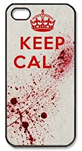 Super Keep Cal Blood Theme Iphone 5S Case