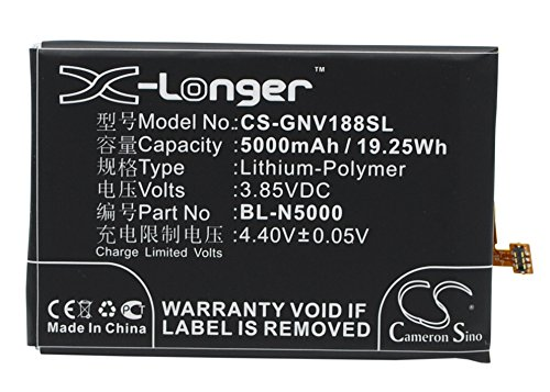 (Extra Longer Capacity Replacement Battery for BLU D810, D810u, S0090UU, Studio Energy, Studio Energy 2)