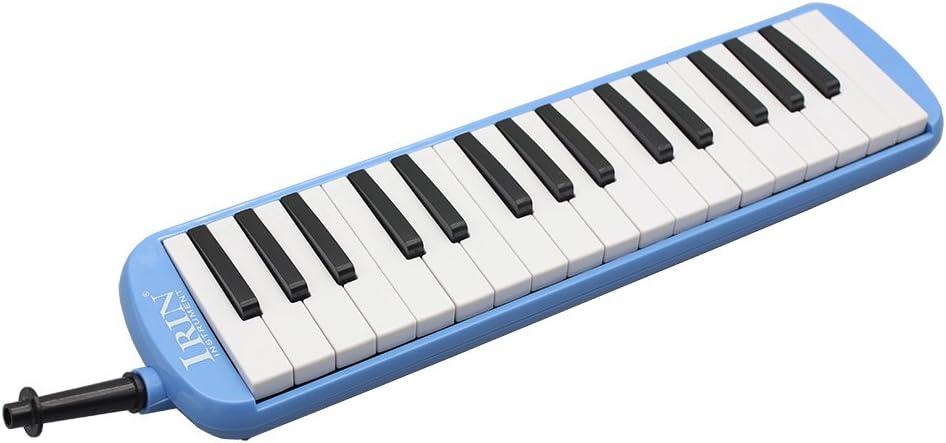 WINGONEER Portátil 32 Melodica estudiante armónica con bolsa
