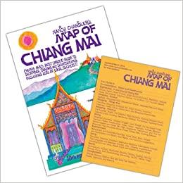 Nancy Chandler\'s Map of Chiang Mai, 20th Edition: Amazon.co.uk ...