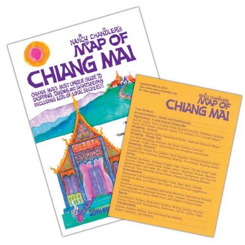 Nancy Chandler's Map of Chiang Mai, 20th Edition (Chiang Mai Map)
