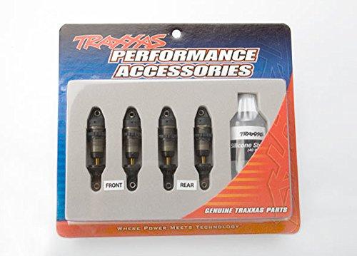 Body Aluminum Shock (Traxxas 7061 X 1/16 GTR Hard-Anodized Aluminum Shocks (PTFE-coated bodies and TiN shafts) (set of 4))
