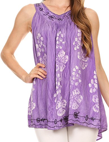 Purple Floral Outfit - 6