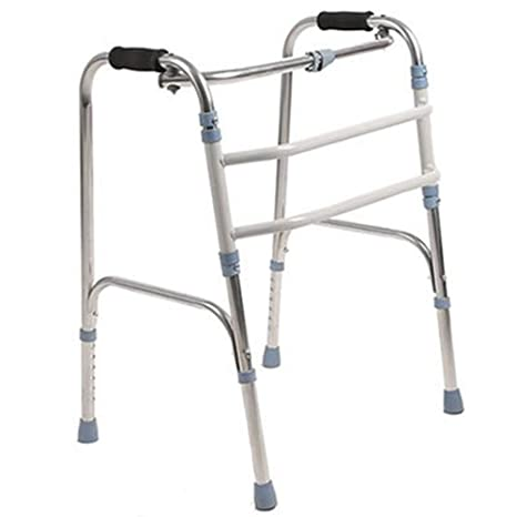 J&W Andador para Ancianos Sin Ruedas | Regulable En Altura ...