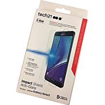Tech 21 Impact Shield Screen Protector with Self Heal for Galaxy Note 5