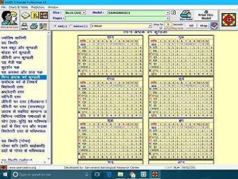 Mindsutra Software Technologies E-Kundali 4 0 (Language Hindi, English,  Bangla, Gujarati, Marathi, Telugu, Kannada) (CD)