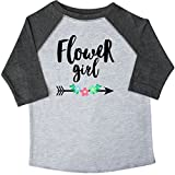 Inktastic Little Girls' Flower Girl with Arrow and Flowers Toddler T-Shirt