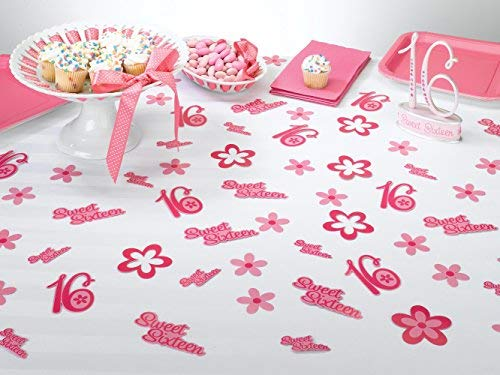 Lillian Rose Sweet Sixteen 16 Theme Party Decor Confetti SS780 CN