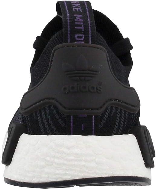 Adidas NMD_R1 STLT Primeknit shoes women (Cg6270) Black