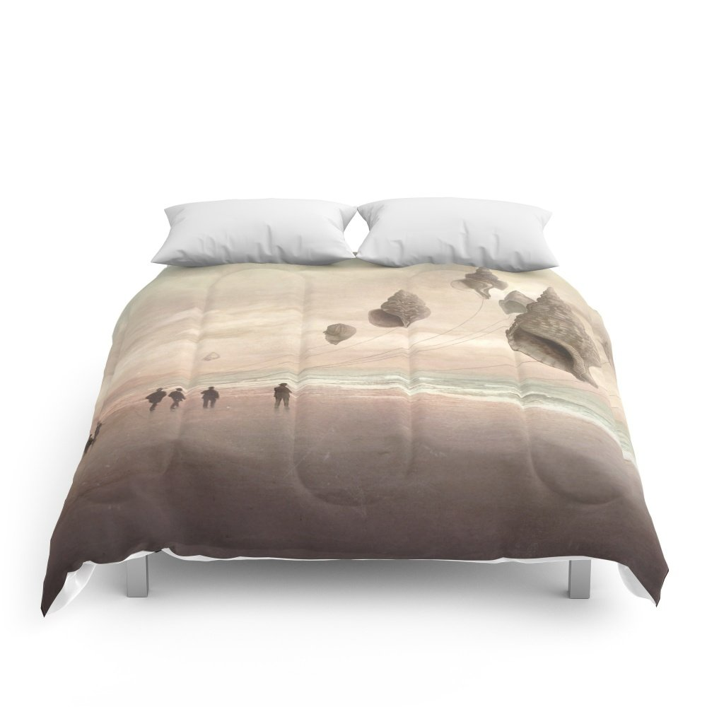 Society6 Floating Giants Comforters Queen: 88'' x 88''