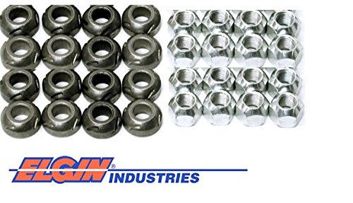 New Rocker Arm Grooved Pivot Ball & Lock Nut Set Chevy sb 400 350 327 305 283 (Pivot Ball & Lock Nut)