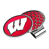 LinksWalker NCAA Wisconsin Badgers Golf Hat Clip with Ball Marker