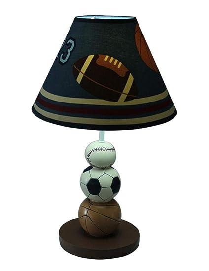 AFD Lámpara de Mesa Creativa de la Alfombra Del Baloncesto ...