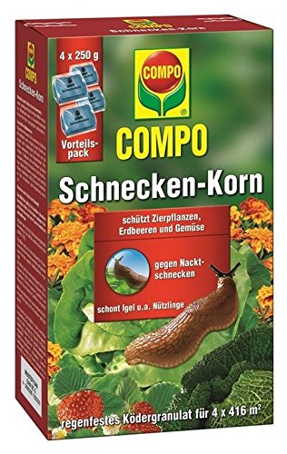 Compo Schneckenkorn 1 kg Schnecken bekä mpfen