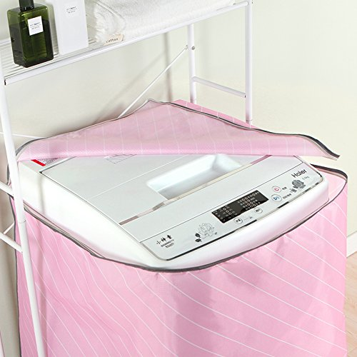 Peque/ño y fresco estilo de Cubierta para lavadora,Impermeable protector solar cubierta de la m/áquina a prueba de agua lavadora de polvo chaqueta protectora,Estilo 3
