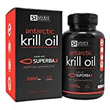 Antarctic Krill Oil 1000mg with Astaxanthin   60 Liquid Softgels - 2 Month Supply
