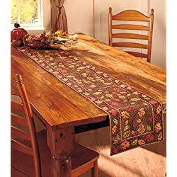 "72"" Harvest Leaves Table Runner"