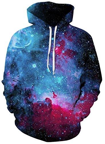 Cool Kids Sweatshirt - HWHColor Teen Boys Girls Print Galaxy Cool Long Sleeve Pullover Hoodie Sweatshirt