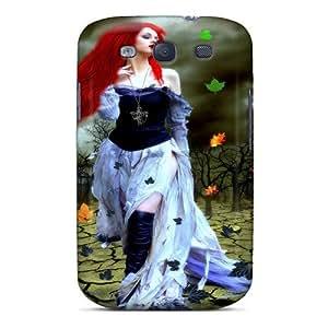 New Premium JnVvSmI747SXpRj Case Cover For Galaxy S3/ Beautiful Death Protective Case Cover