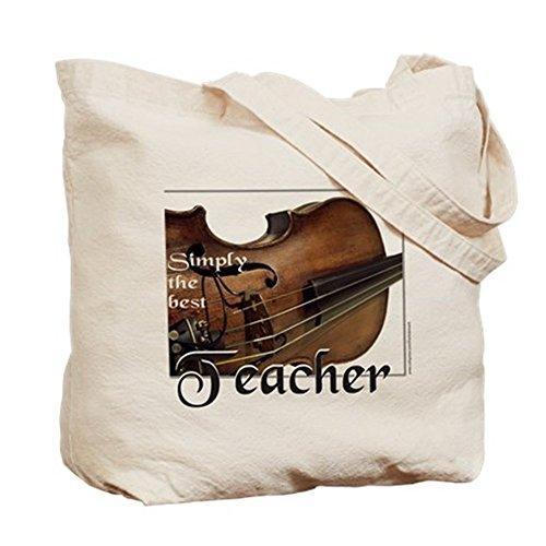 CafePress–mejor profesor–Gamuza de bolsa de lona bolsa, bolsa de la compra