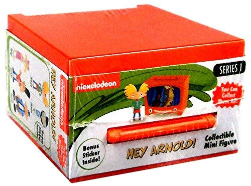 NEW! SET OF 2 - COLLECTIBLE MINI FIGURES HEY ARNOLD! - Series 1 - Nick 90's! They is Back! -