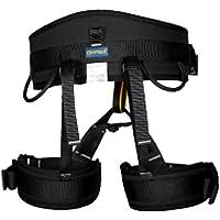 HOMYL Safety Harness Seat Sitting Bust Belt Equipment for Outdoor Tree Surgeon Arborist Rock Climbing Mounatineering 4-Color