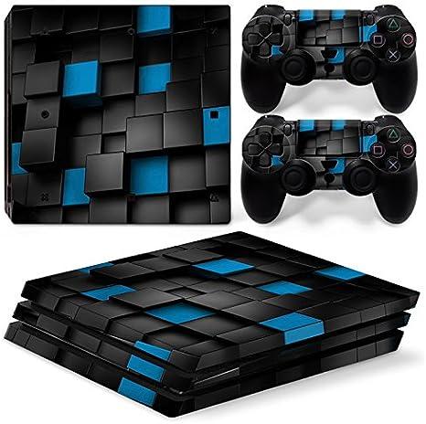 Sony PS4 Playstation 4 Pro Skin Design Foils Pegatina Set - Pixel 2 Motivo: Amazon.es: Videojuegos