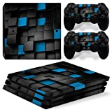 CSBC Skins Sony PS4 Pro Design Foils Faceplate Set - Pixel 2 Design