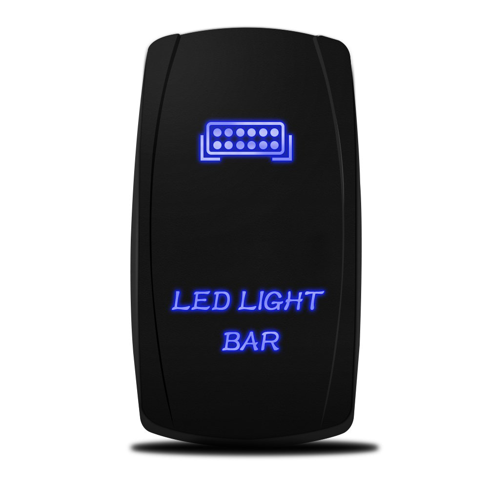 MicTuning MIC-LSB1 Laser LED Light Bar Rocker