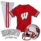Franklin Sports NCAA Wisconsin Badgers Deluxe Youth Team Uniform Set, Medium
