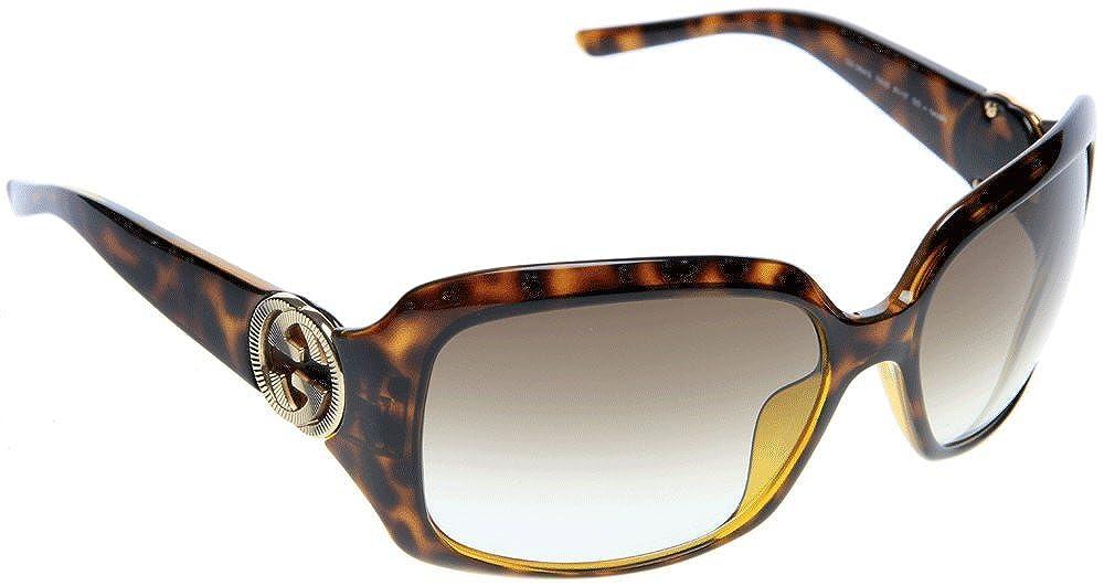 c80f076c183 Amazon.com  New Gucci Sunglasses GG 3164 GG3164 791 Havana Women  GUCCI   Clothing