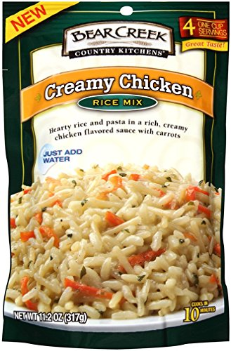 Bear Creek Rice Mix, Creamy Chicken, 11.2 Ounce (Pack of 6)