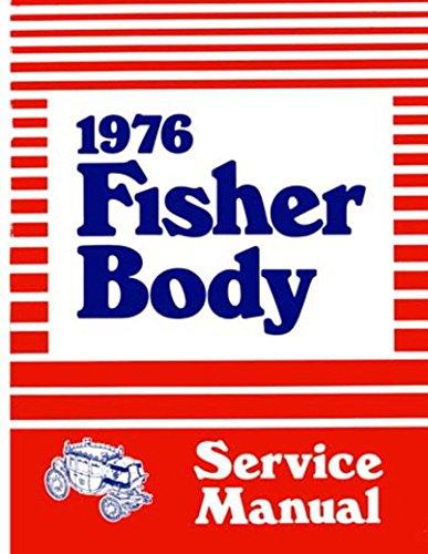 Download 1976 Fisher Body Service Manual GM Chevrolet Monte Carlo Camaro Impala Original pdf epub