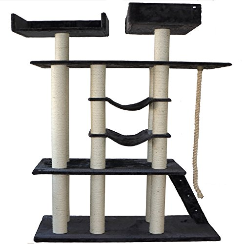 Bestmart INC 80.7'' Cat Tree Furniture scratcher Play scr...