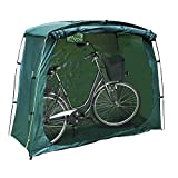 TekBox Green Bicycle Bike Storage Protective Cover Tent Shed Garden Outdoor Shelter (Square)