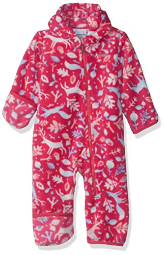Columbia Unisex Baby Infant Snowtop II Bunting, Cactus Pink Deers Print, 18/24