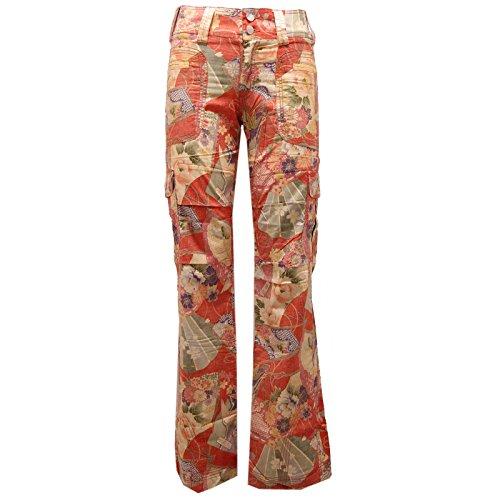 Donna Trouser 8440U Woman Custo Arancione Barcelona Pant Pantalone qWEdnXnv