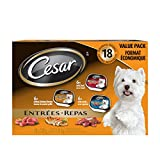 Cesar Entrées Food Trays for Dogs - Beef - Chicken - Lamb
